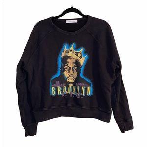 Daydreamer Biggie King Of Brooklyn Raglan Pullover